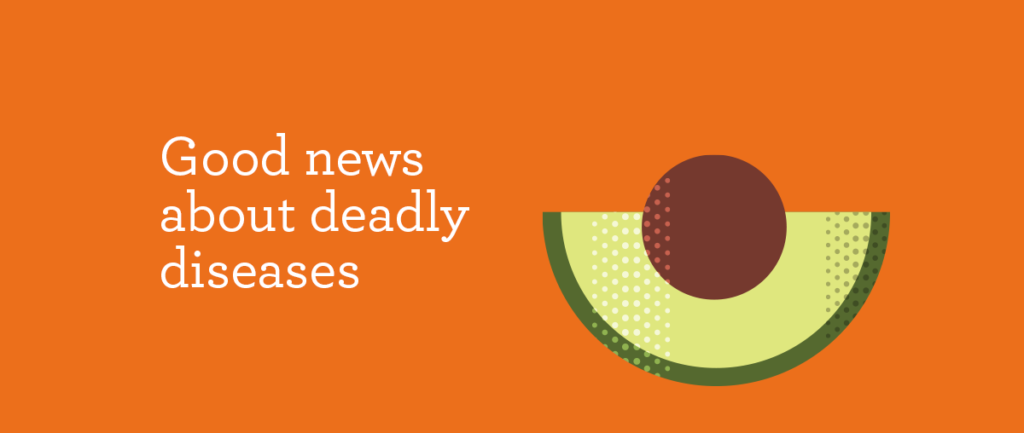 Good news about deadly diseases Headline