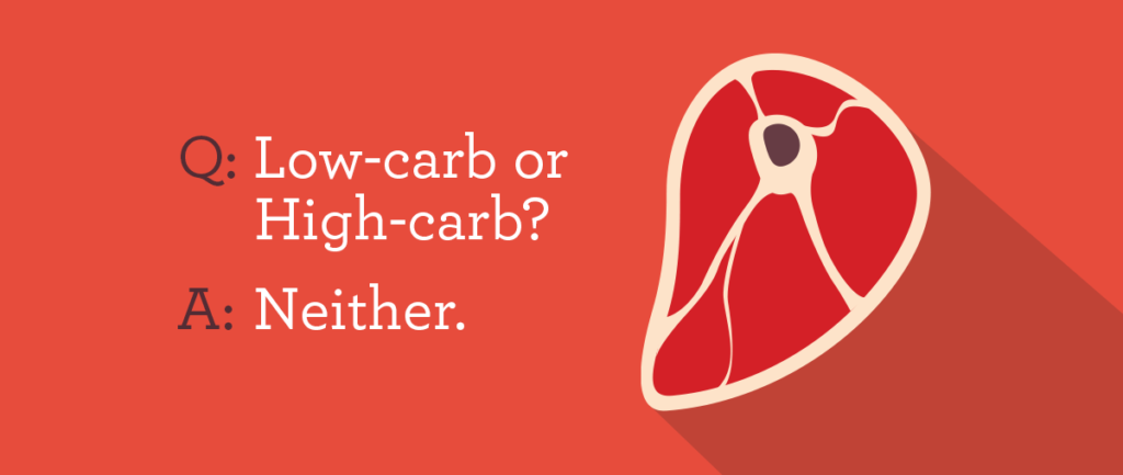 low carb high carb research study